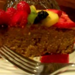 Lemon Zucchini Spelt Pound Cake with Fresh Fruit