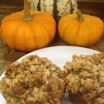 GF Pumpkin Streusel Muffins