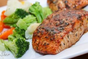 salmon-veggies