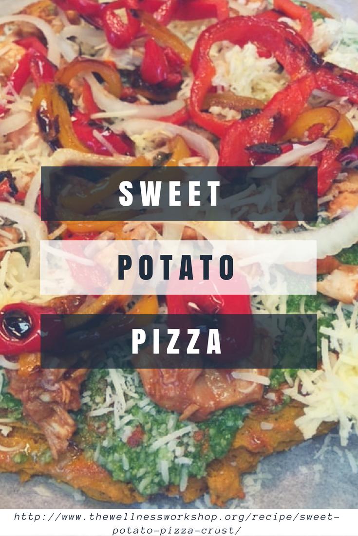 Sweet Potato Crust Pizza