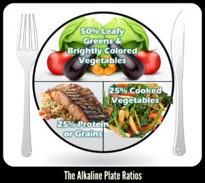the alkaline plate