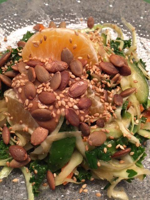Alkaline 3 minute salad
