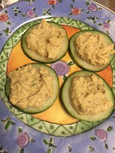Cucumber Sprout Bites