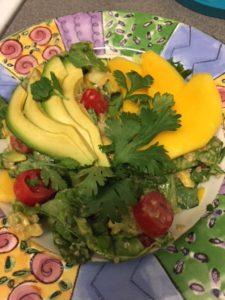 Alkaline Mango Avocado Salad