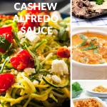 Creamy Dairy Free Cashew Alfredo Sauce
