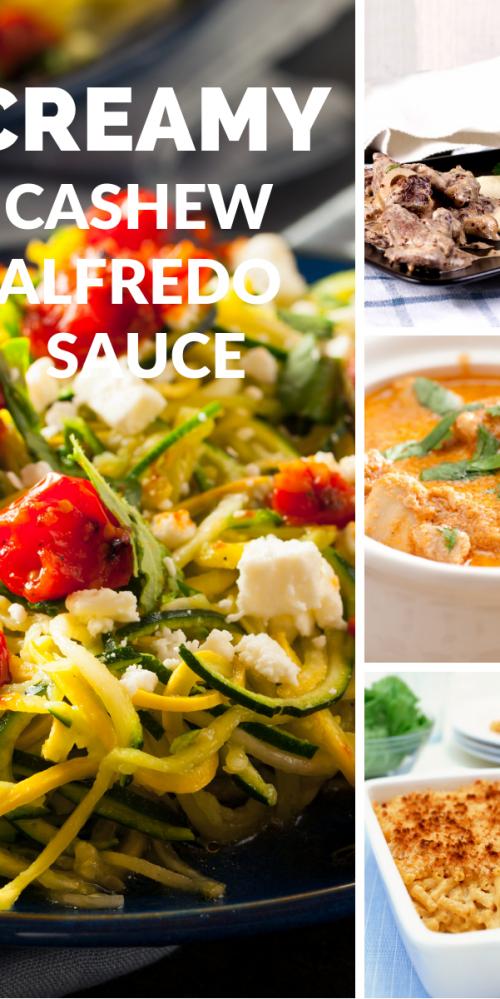 Vegan Cashew Alfredo Sauce
