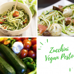 Spiralized Zucchini with Vegan Pesto