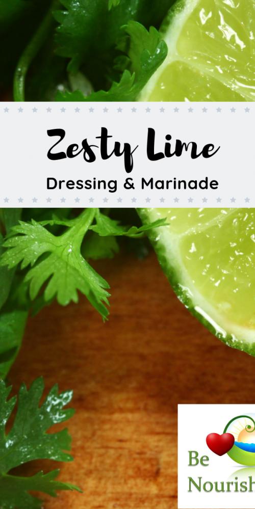 Zesty Lime Dressing & Marinade