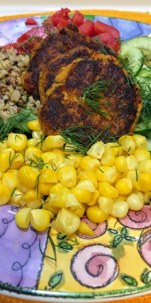 Gluten Free Sweet Potato Falafel Bowl